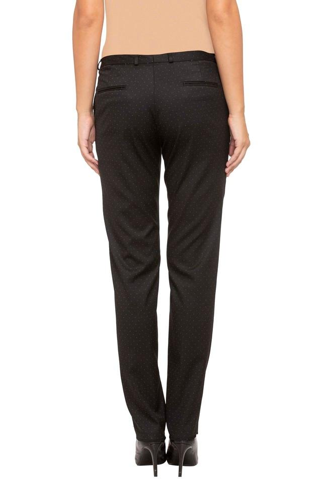 Womens 4 Pocket Printed Pants