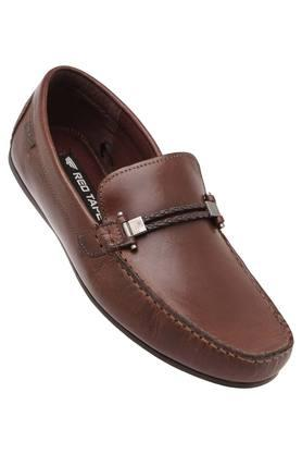 RED TAPE Mens Leather Slipon Loafers - 203947373_8927