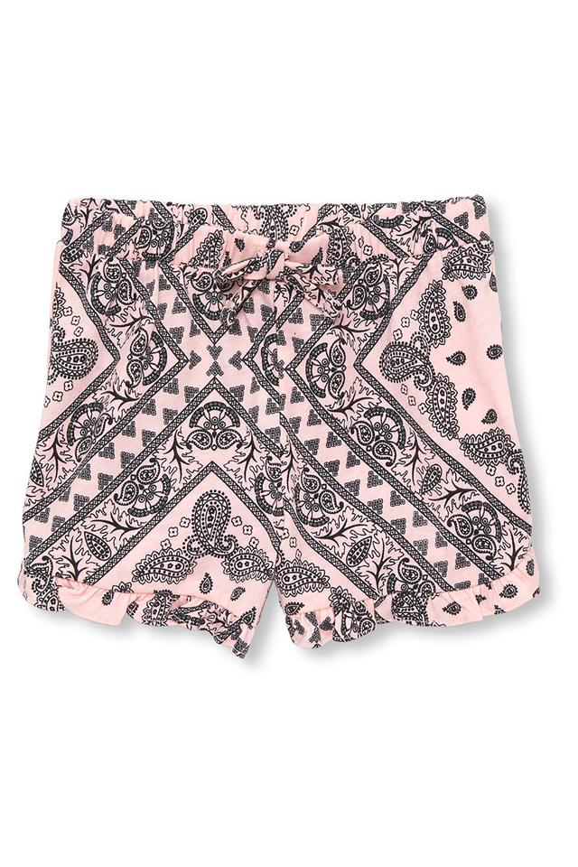 Girls Printed Shorts