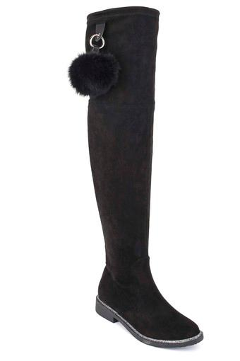 Womens Casual Wear Zipper Closure Boots
