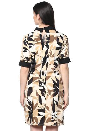 Womens Printed Shift Dress