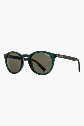 Womens Round Full Lens Sunglasses