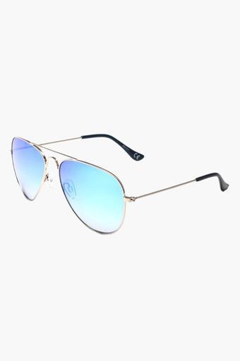 Mens Aviator Polycarbonate Sunglasses - 2059N C2 S