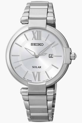 SEIKOWomens Dress Analog White Dial Watch - SUT153P1