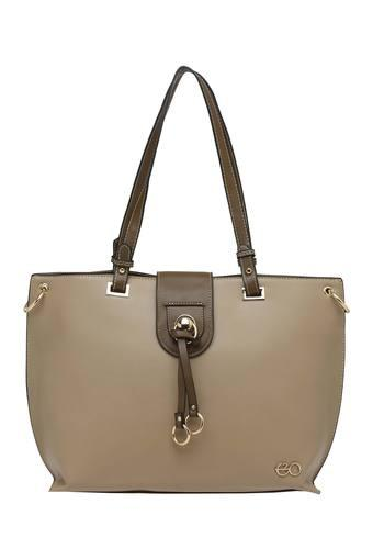 E2O -  Beige Handbags - Main