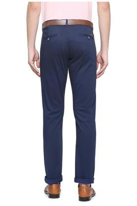 Mens Slim Fit 4 Pocket Solid Chinos