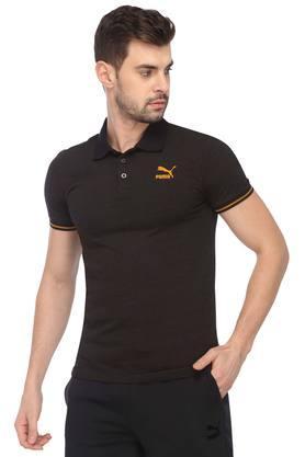 PUMAMens Printed Polo T-Shirt