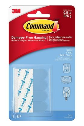 Clear Small Refill Strips Pack of 20