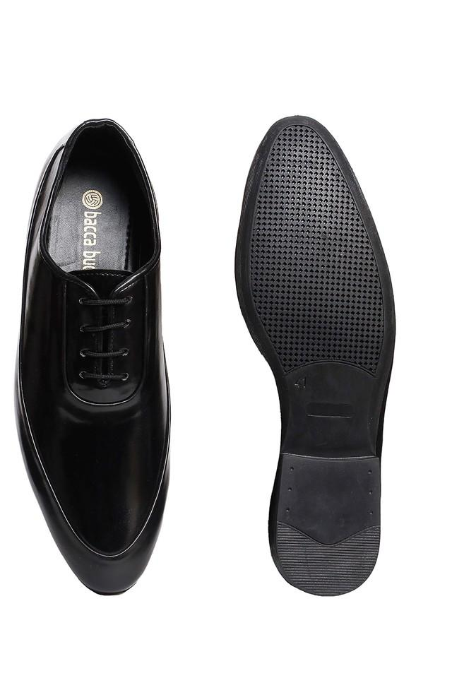 Mens PU Lace Up Shoes