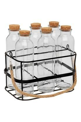 IVY Drinking Bottles With Stand (Set Of 6)