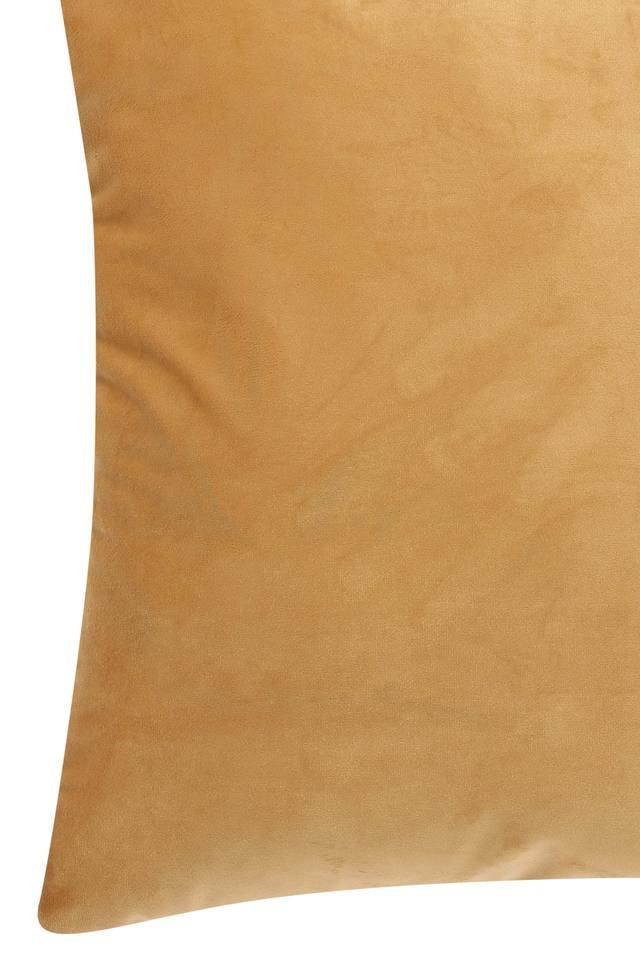 Square Solid Velvet Cushion Cover