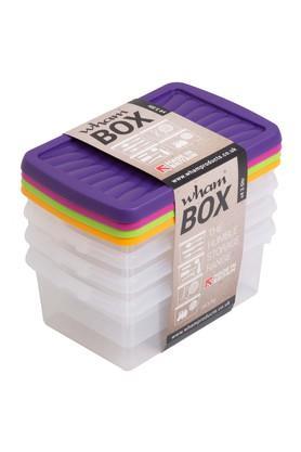 WHATMOREPlastic Kitchen Storage Box - Set Of 4