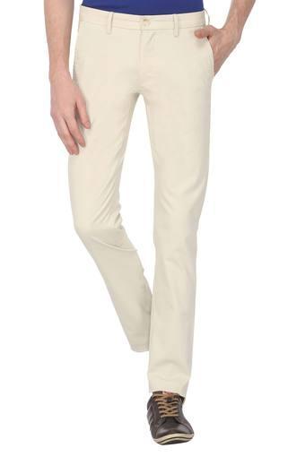 ALLEN SOLLY -  Off WhiteCargos & Trousers - Main
