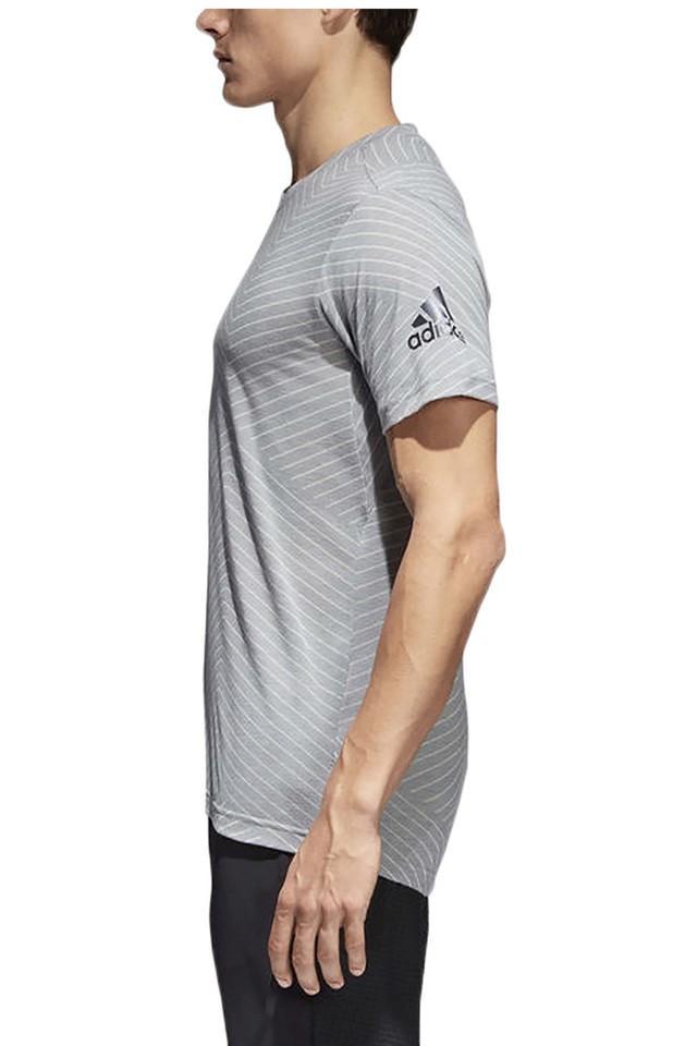 Mens Round Neck Stripe T-Shirt