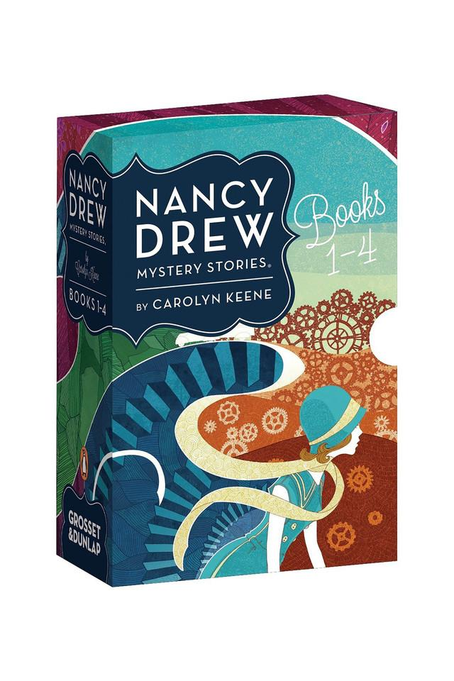 nancy Drew Mystery Stories Collection (Books 1-4)