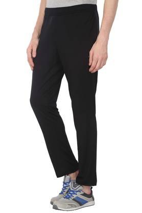 Mens 2 Pocket Solid Trousers