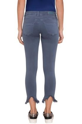 Women 5 Pocket Coated Jeans