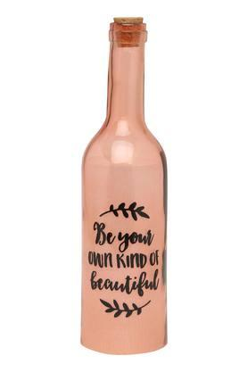 IVYSlogan Printed Bottle Lamp