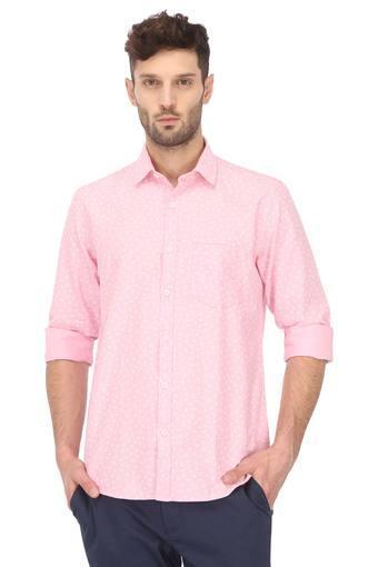 Mens Floral Print Casual Shirt