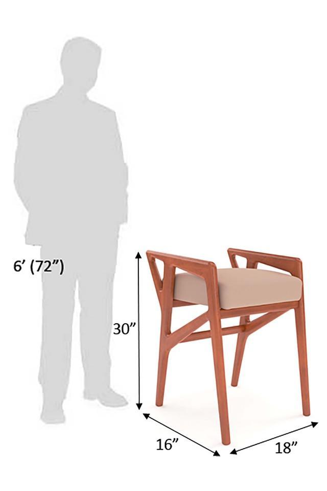 Walnut Gio ponti stool