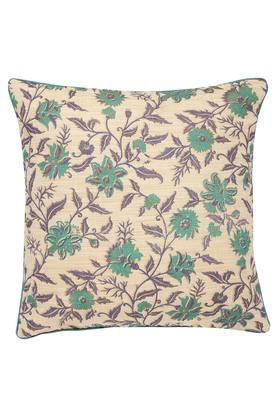 Square Floral Printed Cushion Cover