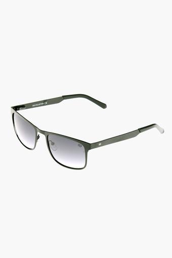Mens Rectangle Polycarbonate Sunglasses - GM6078C09