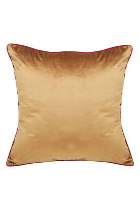 Square Solid Velvet Cushion Cover