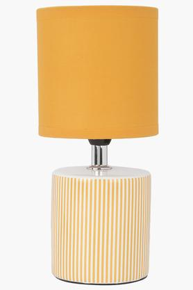 IVY Round Stripe Table Lamp - 23 Cms