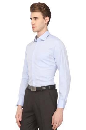 Mens Classic Fit Checked Formal Shirt