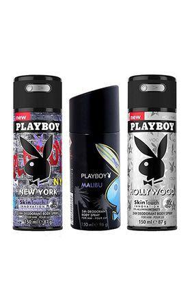 Mens Deodorant Spray Pack Of 3