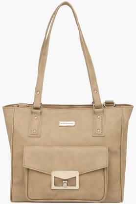ELLIZA DONATEINWomens Zipper Closure Satchel Handbag - 203372150