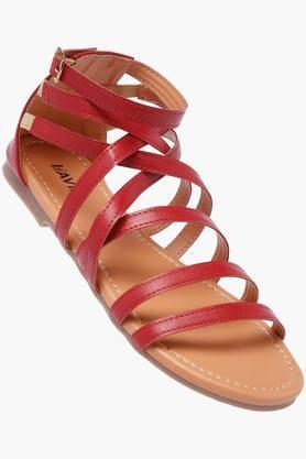LAVIEWomens Casual Wear Buckle Closure Flats - 202520359