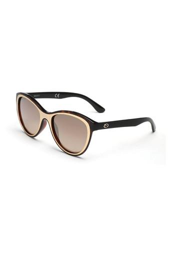 Womens Full Rim Oval Sunglasses - 2072 C1 S