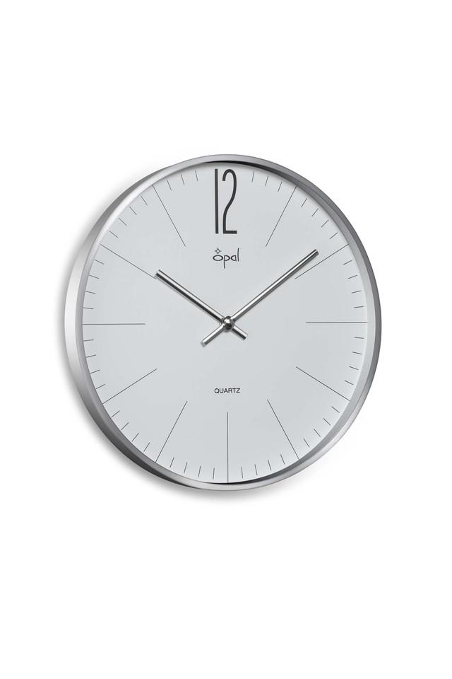 Round Analogue Wall Clock with Stick Markers