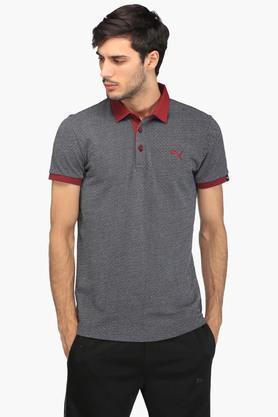 PUMAMens Printed Polo T-Shirt - 203392356