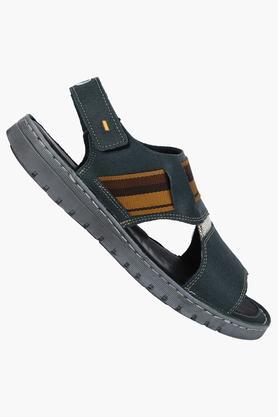 Mens Velcro Closure Sandals