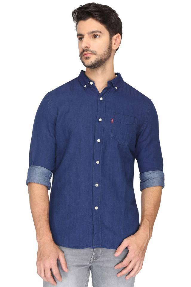Mens Buttondown Collar Assorted Shirt