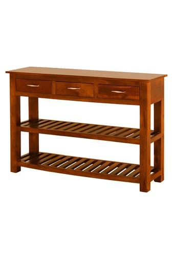Brown Linda Console Table