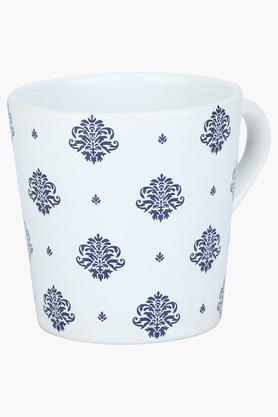 Round Ethnic Printed Coffee Mug - 175ml