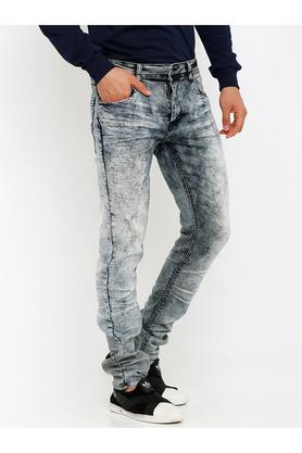 Mens Heavy Wash Jeans