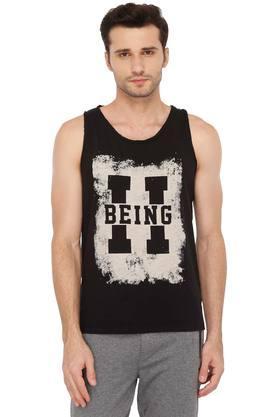 BEING HUMANMens Round Neck Printed T-Shirt - 203907525_9212