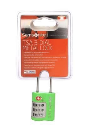 Unisex TSA 3 Dial Metal Lock
