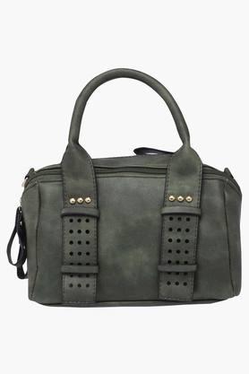 HAUTE CURRYWomens Zipper Closure Tote Handbag - 202722246