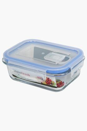 IVY Glass Container With Lid - 400 Ml