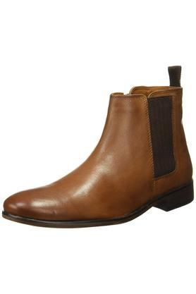 RED TAPE Mens Leather Slipon Boots - 203095229_9124