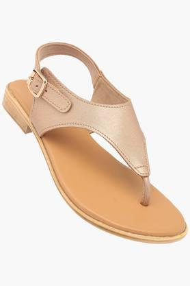 LEMON & PEPPER Womens Casual Wear Buckle Closure Flats - 203393285
