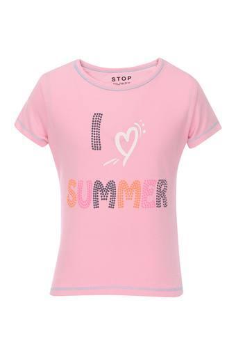 STOP -  PinkTopwear - Main
