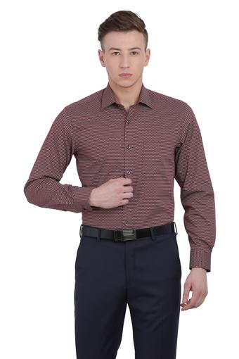 LOUIS PHILIPPE -  Maroon Shirts - Main