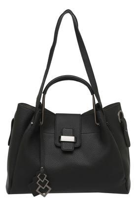 FEMINA FLAUNT Womens Zipper Closure Tote Handbag With Pouch - 204108517_9212