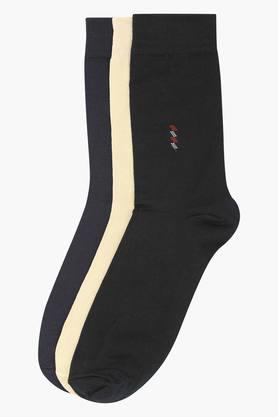 STOPMens Solid Socks Pack Of 3